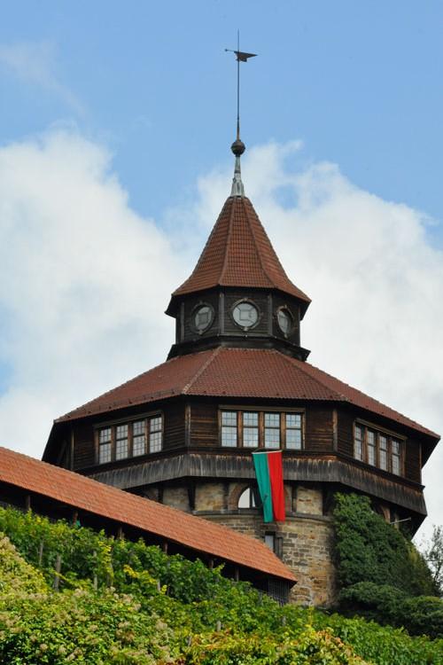 Dicker Turm mit Esslinger Fahne