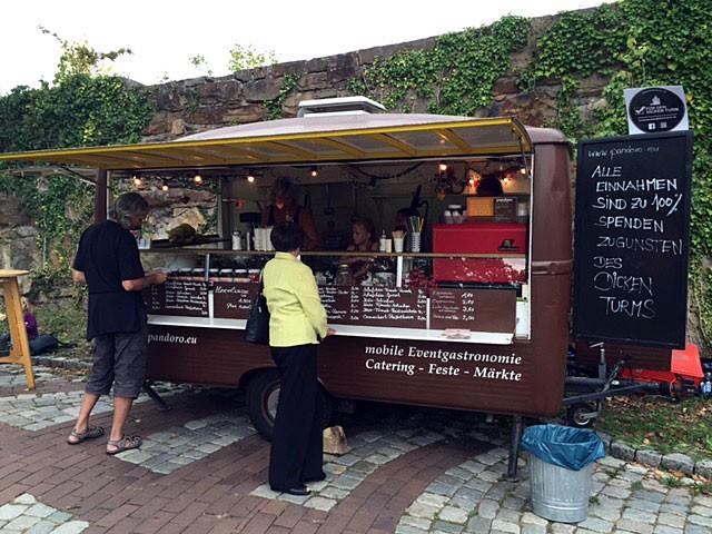 Cafe und mehr pandoro Wagen