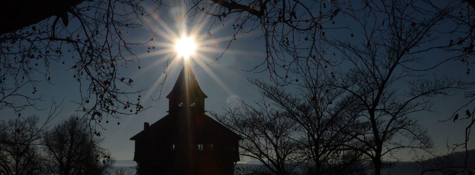 Dicker Turm Esslingen im Sonnenlicht