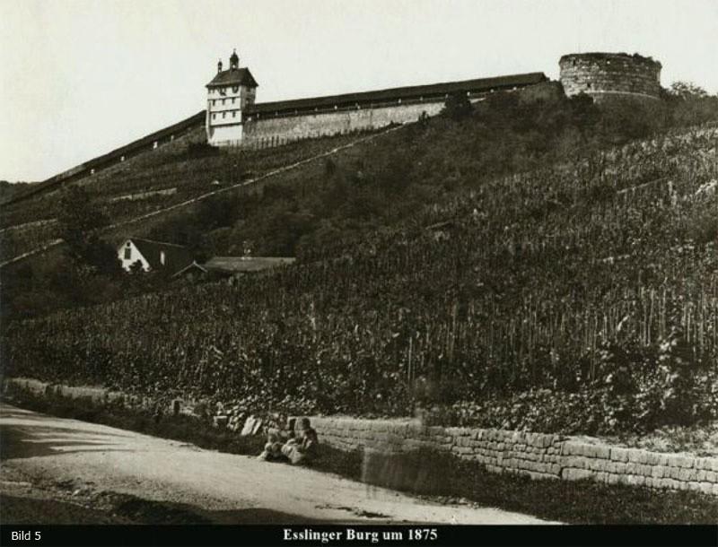 Esslinger Burg 1875