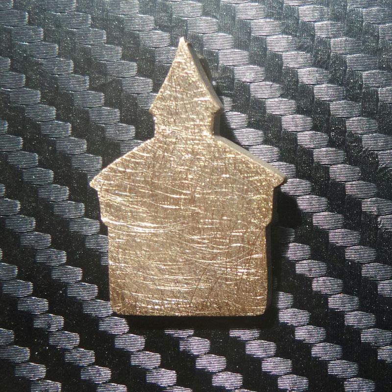 Anhänger Dicker Turm in Bronze