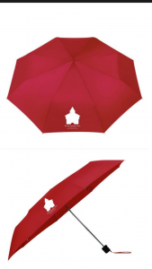 Turmwächter-Schirm-Rot